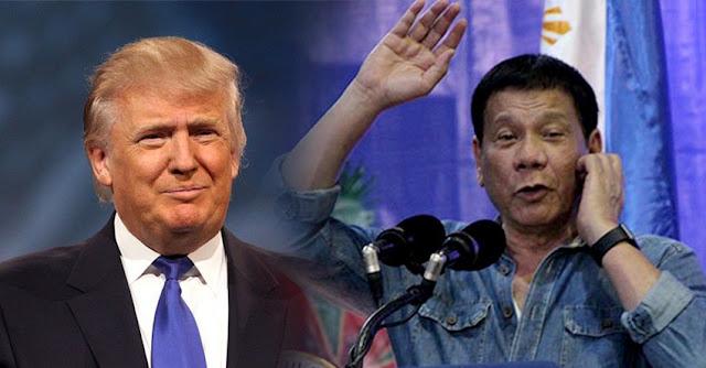 Trump convida Duterte à Casa Branca
