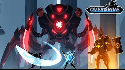 Download Overdrive Ninja Shadow Revenge MOD APK (Unlimited Money) Offline gilaandroid.com