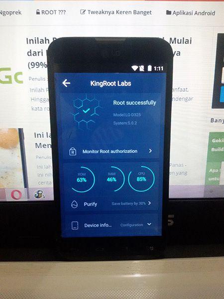 Begini Cara Root Hp Android Tanpa PC - 100% Work Sob (KINGROOT)