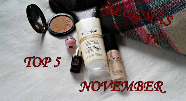 BLOGMAS IV TOP 5 Listopad || TOP 5 November