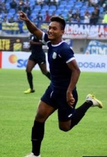 gambar Nur Hardianto (striker) Persela Lamongan