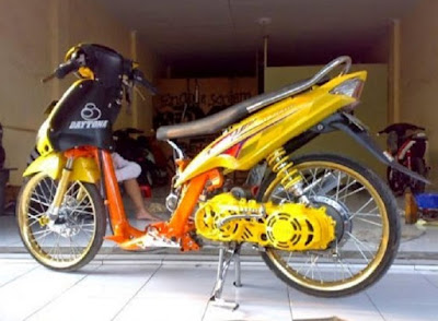 Top modifikasi mio sporty