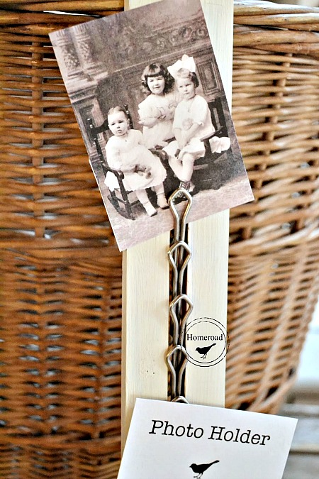 How to Make a Tie Rack Photo Display