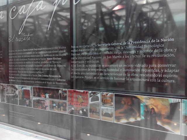 Mural de Siqueiros en Museo Casa Rosada, Buenos Aires