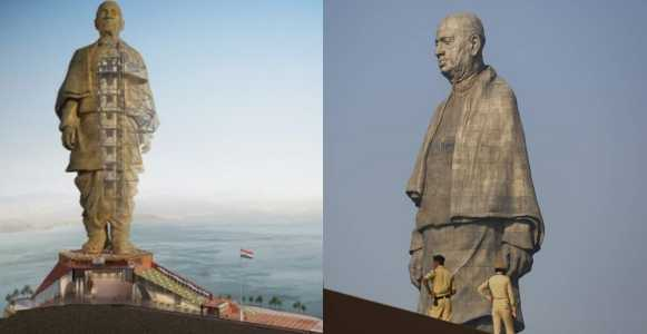 India Unveils The Tallest Statue In The World Worth 430 Million Dollars
