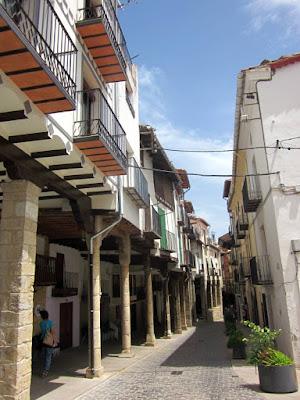 Casas medievales en Morella