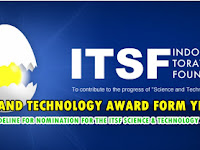 SCIENCE AND TECHNOLOGY AWARD FORM YEAR 2019