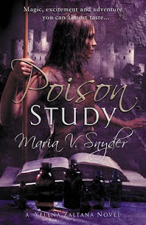 Poison Study by Maria V. Snyder book cover