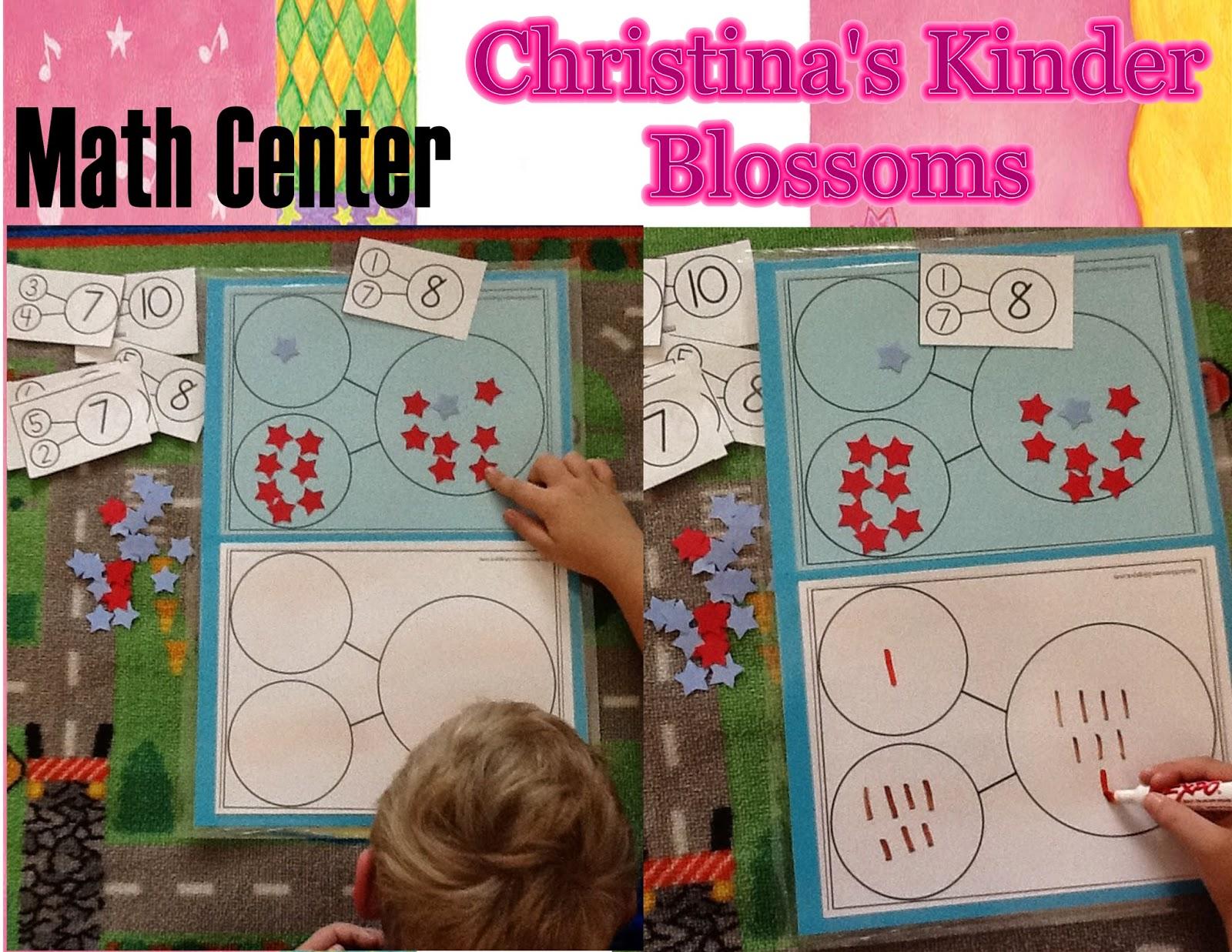 Christina S Kinder Blossoms Number Bonds In Kindergarten