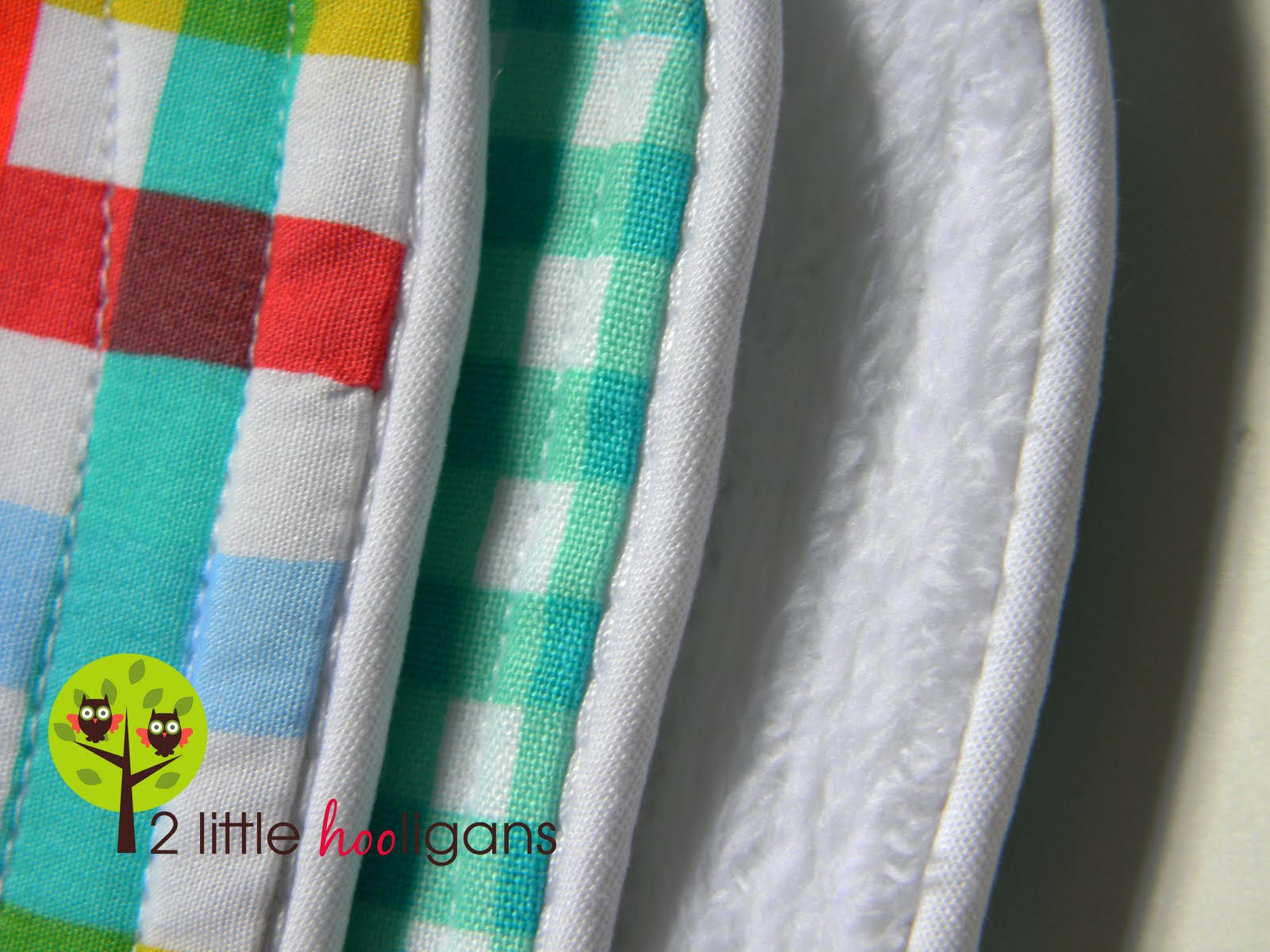 How to make burp cloths with piping tutorial baby burp cloths with piping tutorial baditri Image collections