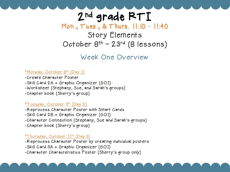 Wishful Teaching Story Elements Characters