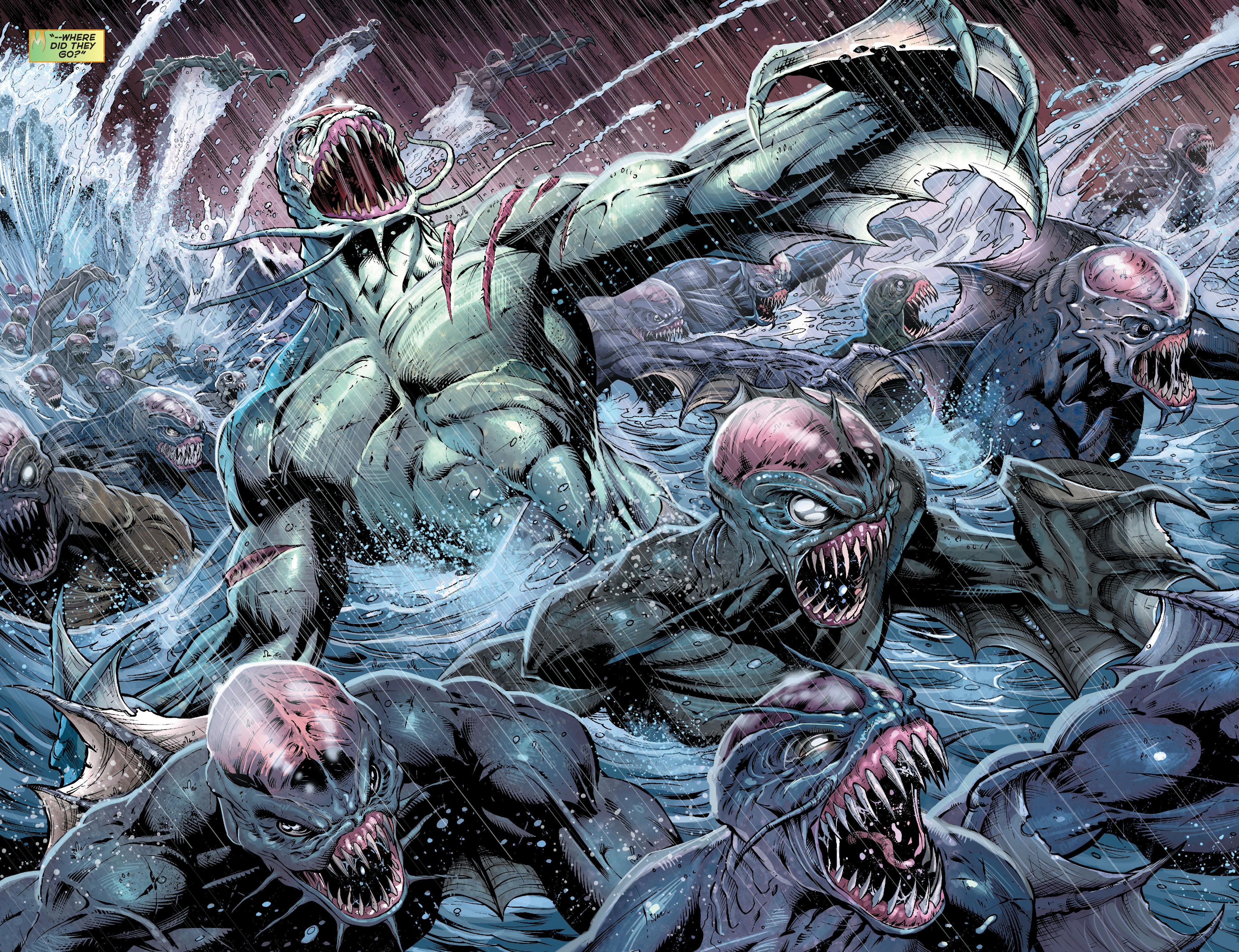 Read online Aquaman (2011) comic -  Issue #16 - 18