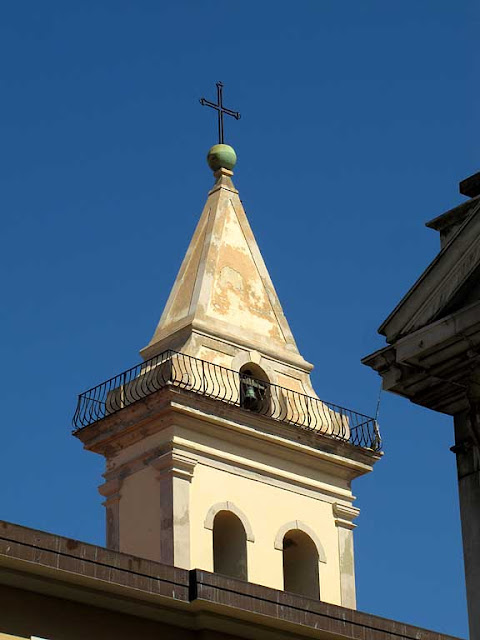 Bell tower with a balcony, Madonna church, Livorno