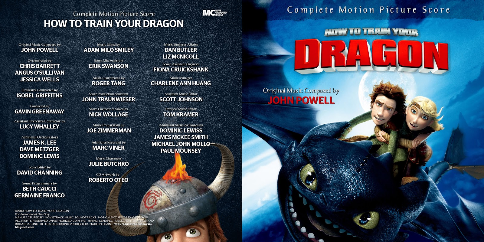 How to train your dragon soundtrack 2 howsto soundtrack list covers how to train your dragon complete john ccuart Image collections