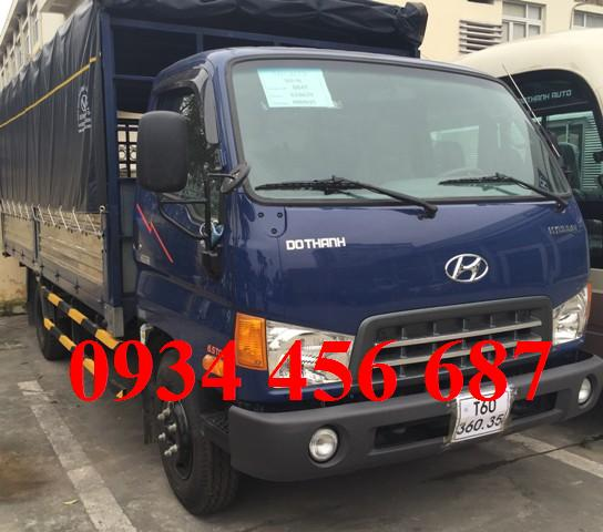 xe Hyundai 3,5 tấn nâng tải 8 tấn