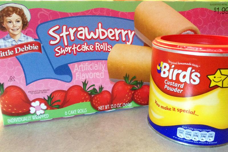 trifle ingredients