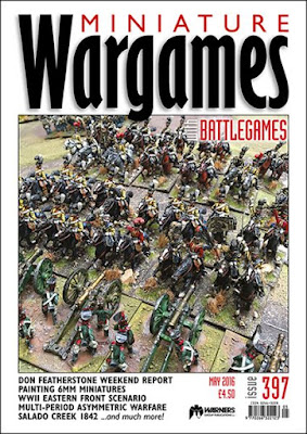 Miniature Wargames 397, May 2016