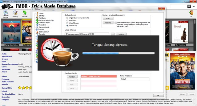 Pengaturan Menu Backup Database3