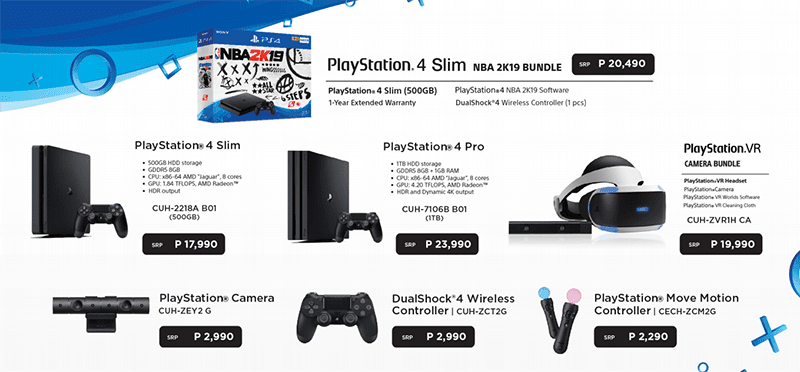 Sony PlayStation 4 offers