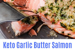 Keto Garlic Butter Salmon