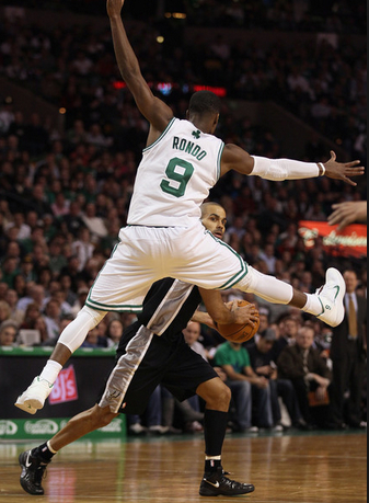 Celtics Life: A Pair of 9s: The Parallel Paths of Rajon