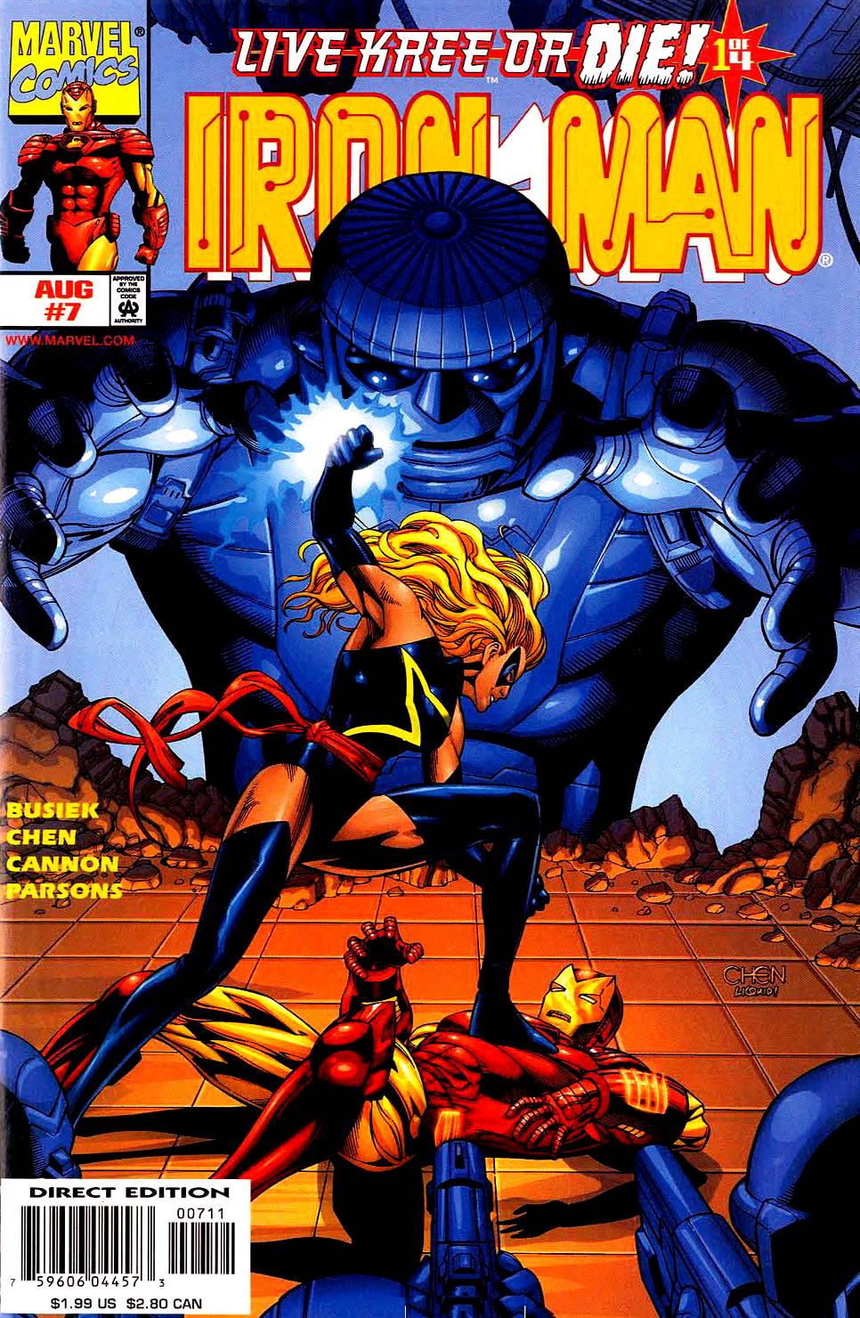 Iron Man (1998) 7 Page 1