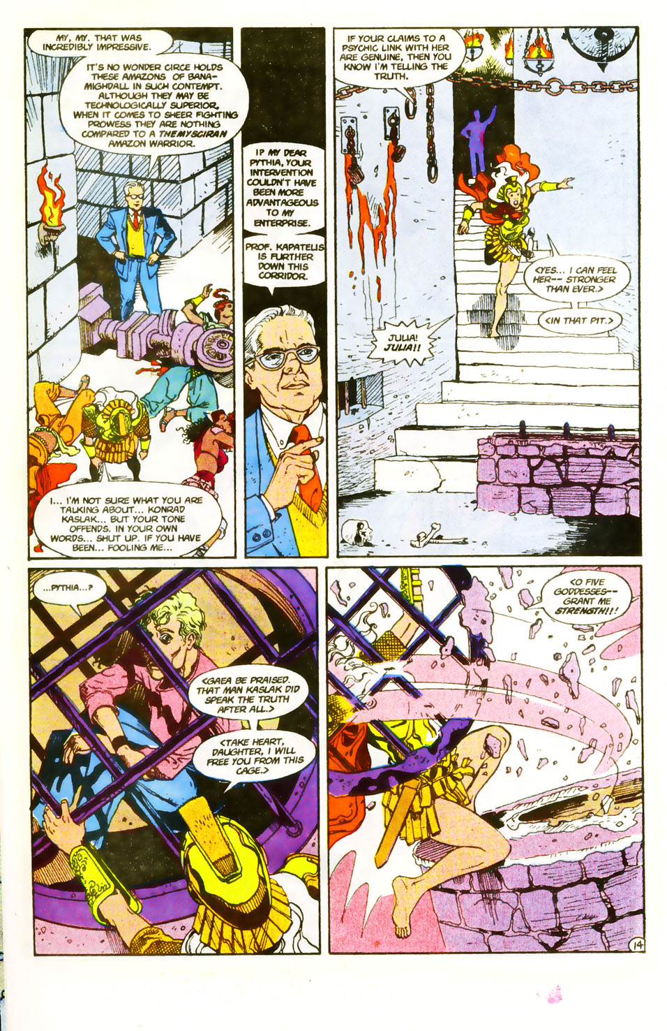 Read online Wonder Woman (1987) comic -  Issue #59 - 16