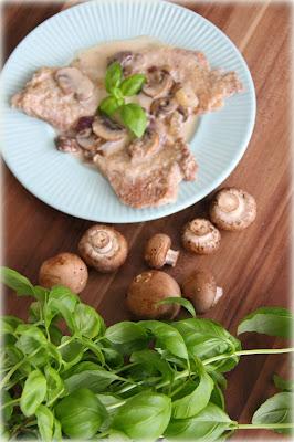 Schab w sosie pieczarkowym (danie z szybkowaru)