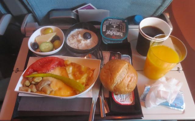 Frühstück bei Turkish Airlines