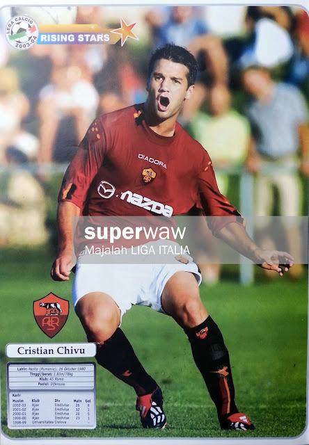 Cristian Chivu AS Roma