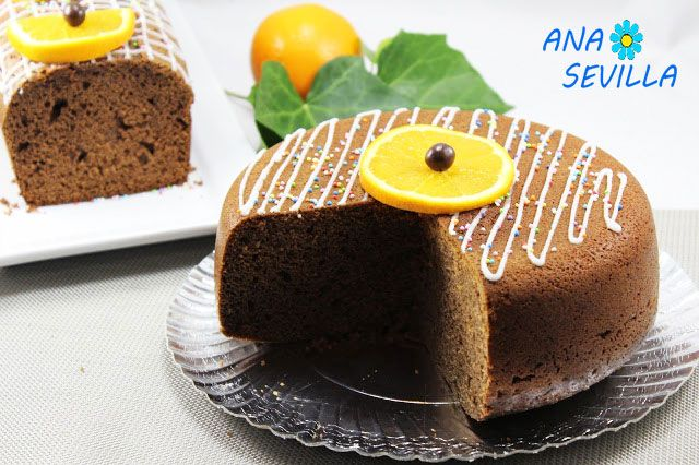 Bizcocho de naranja y chocolate olla GM