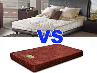 Pilih Mana? Kasur Busa VS Spring Bed