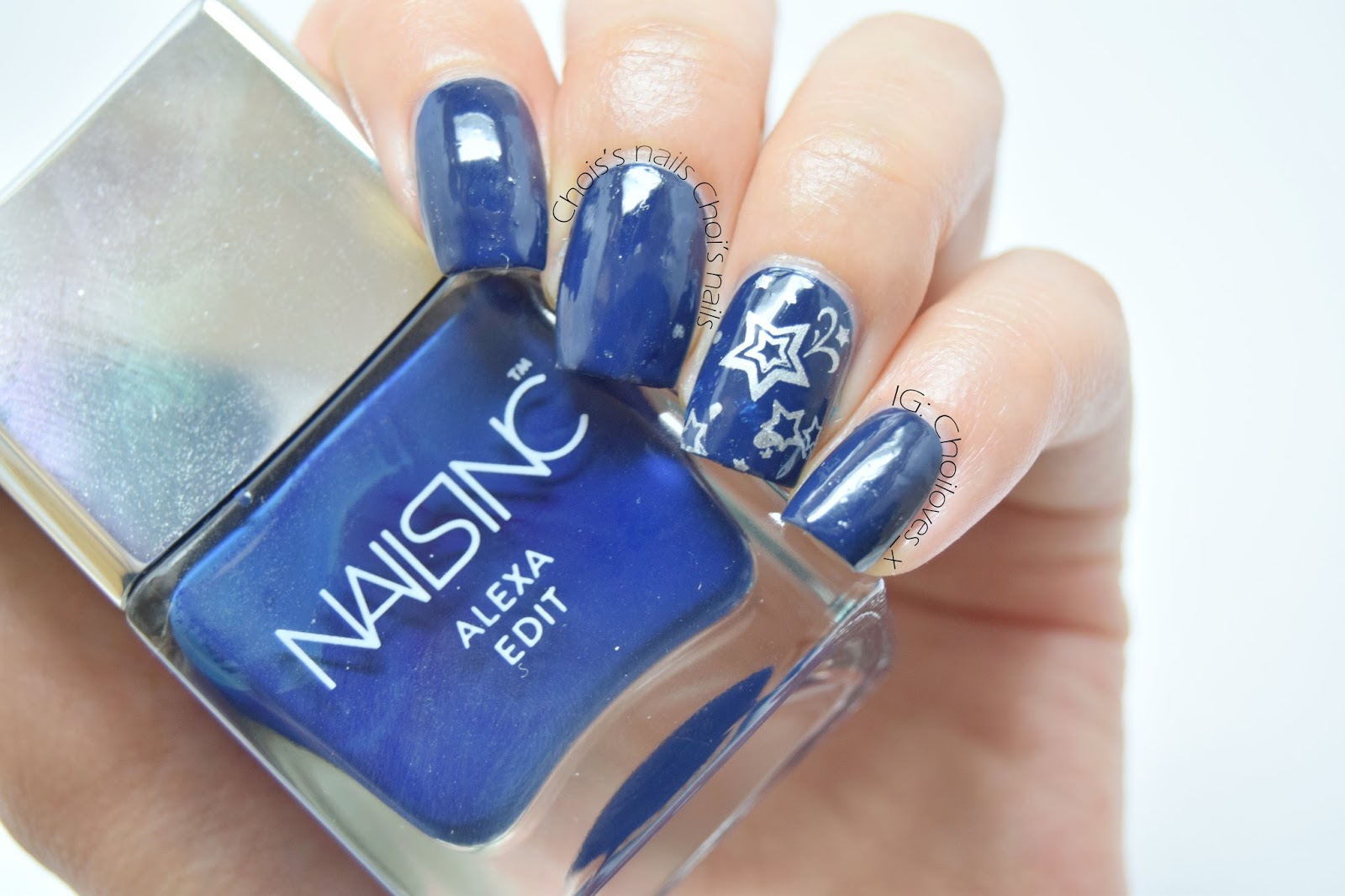 Nails Inc\'s Night Sky - Choi\'s nails