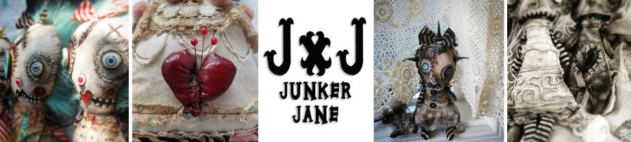 Junker Jane  Monster Art Dolls