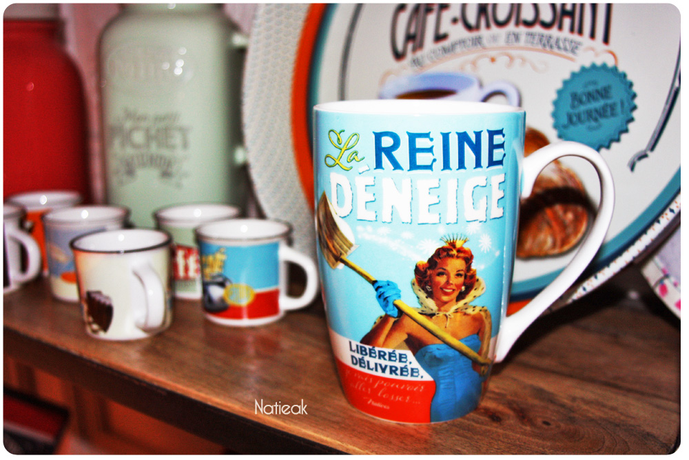 mug La reine déneige de Natives