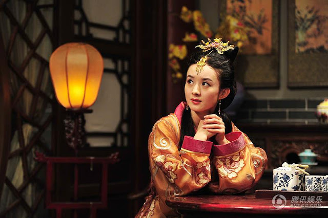 Zanilia Zhao Li Ying in 2016 c-drama Lucky Tianbao