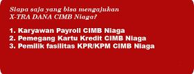Pinjaman Tunai Tanpa Jaminan KTA CIMB NIAGA Bandung