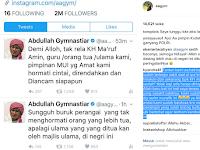 KH Ma'ruf Amin Diancam, Aa Gym Mulai Geram : Jangan Rusak Kesabaran Umat Islam !