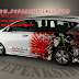 cutting sticker TOYOTA INNOVA REBORN DIESEL