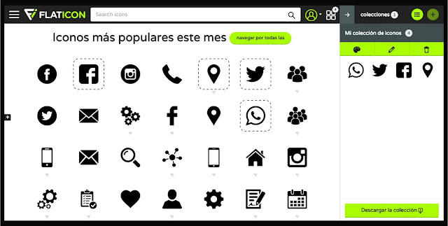 Flaticon iconos gratis