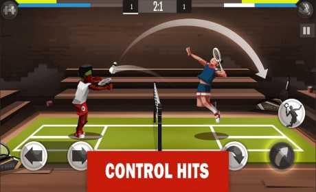 Game Bulu tangkis Android Badminton League MOD APK