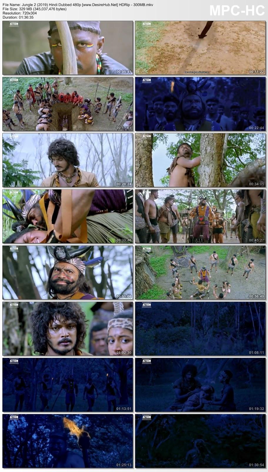 Jungle 2 (Birth) 2019 Hindi Dubbed 480p HDRip – 300MB Desirehub
