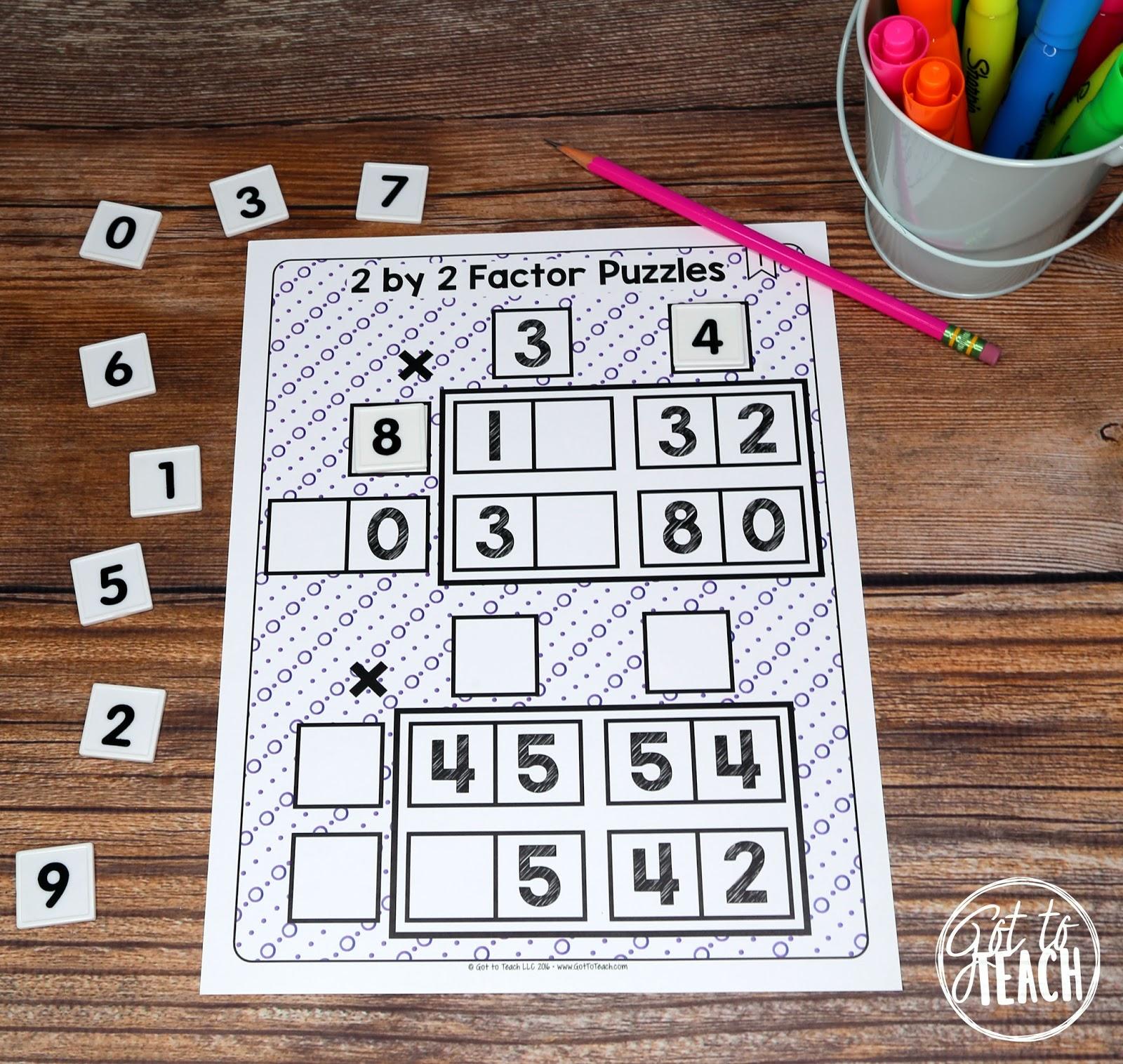 Math Tiles My Favorite Math Activity Teacher Thrive