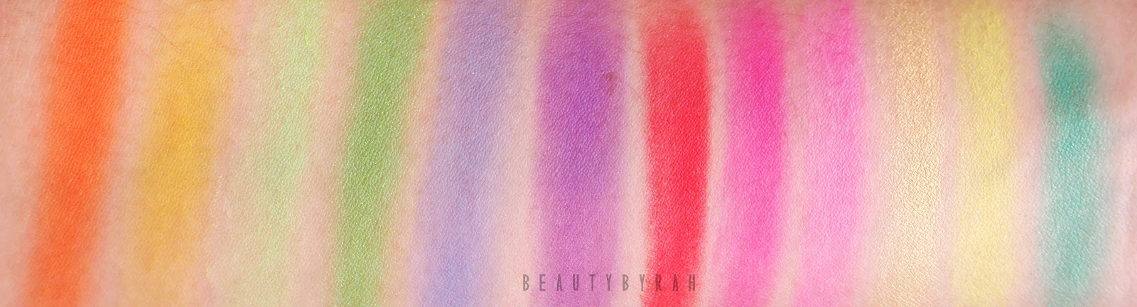 BH Cosmetics Eyes On The 80's Eyeshadow Palette Review and Swatches