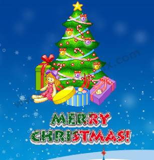 Few to a greater extent than days for biggest Christmas festival How to Add Animate Christmas Tree Widget for Blogger
