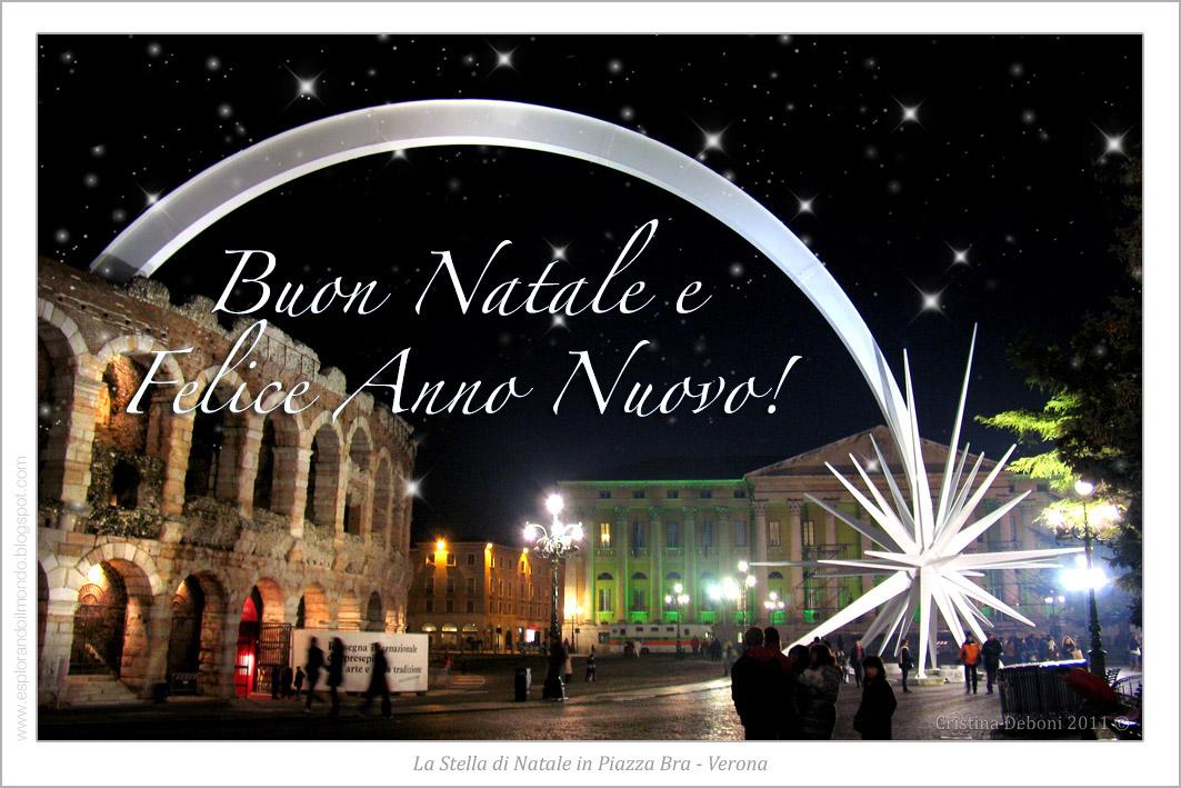 Stella Di Natale A Verona.Esplorando Cartoline Di Verona Per Augurare Buon Natale E Felice