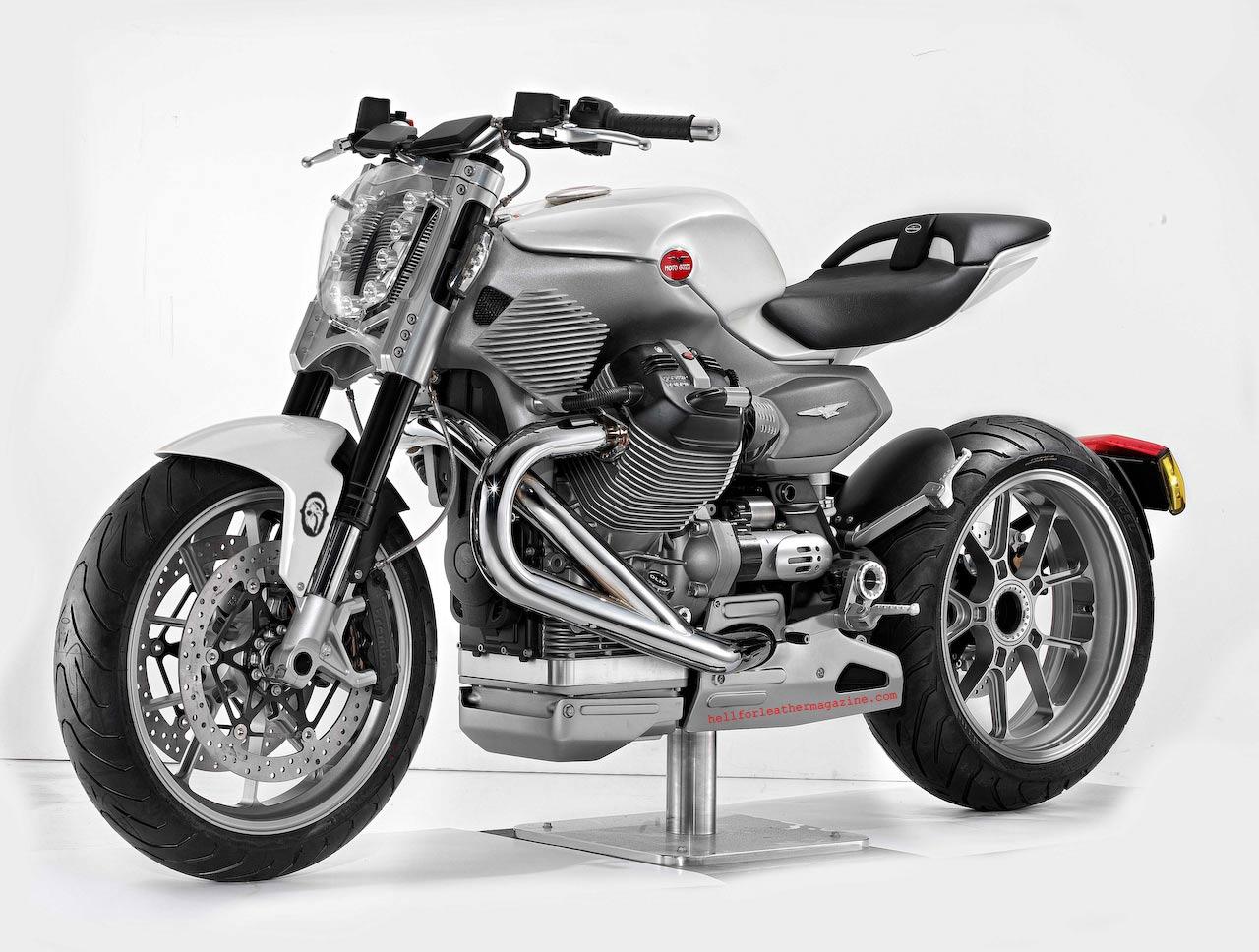 Moto Guzzi V12 Strada Pierre Terblanche