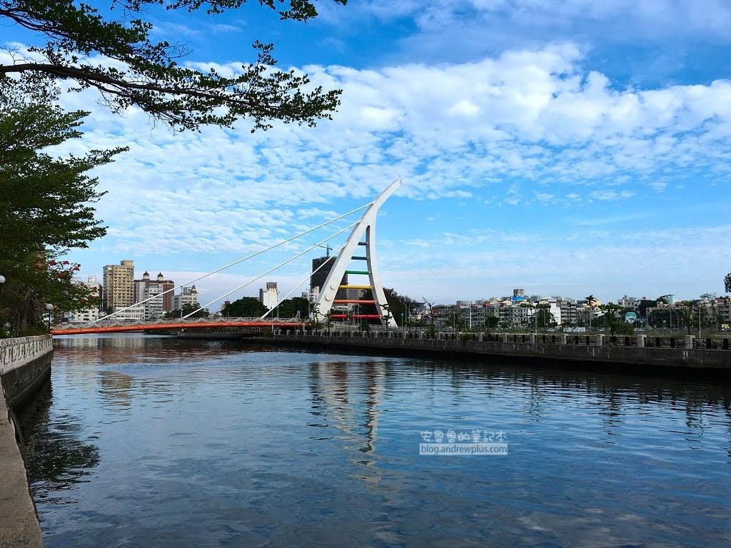 台南景點,台南自行車旅遊,台南運河安平運河自行車道