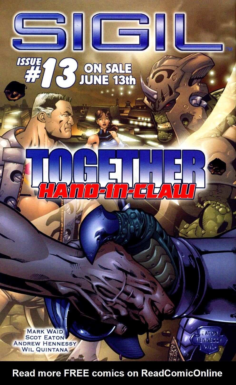 Read online Sigil (2000) comic -  Issue #12 - 28