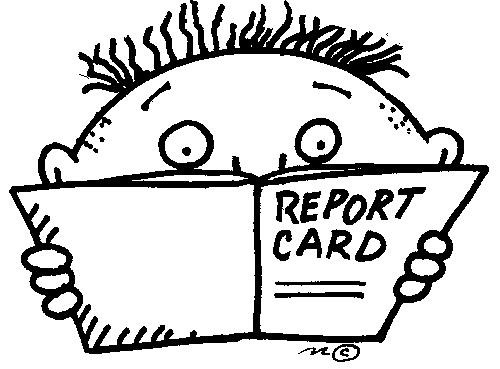 Music With Mr. Barrett: Report Cards...
